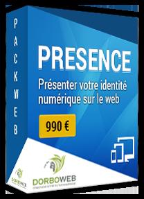 Découvrez notre pack web présence à partir de 990 €