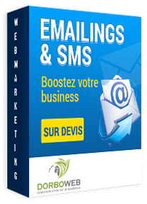 Campagnes emailings et sms