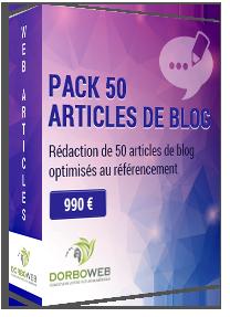 Rédaction de 50 articles de blog optimisés au référencement