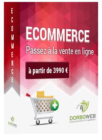 Découvrez notre pack ecommerce / boutique en ligne