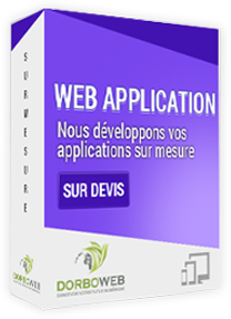 Développement applications web sur mesure