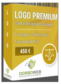 Création de votre logo profesionnel sur mesure pour 450 €
