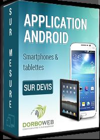 Développement applications Android pour smartphone et tablette