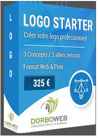 Nous créons votre logo professionnel sur mesure pour 325 €