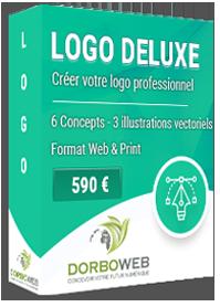 Nous créons votre logo professionnel sur mesure pour 590 €