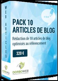 Rédaction de 10 articles de blog optimisés au référencement