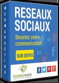 Découvrez notre offre webmarketing liée aux réseaux sociaux