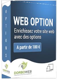 Découvrez nos modules et options web pour Bagaweb