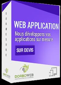 Développement applications web sur mesure